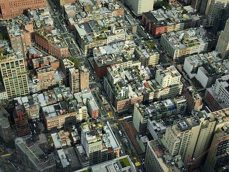 New York, Manhattan, Usa, Holiday, Architecture
