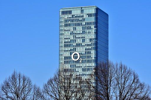 Skyscraper, Tower, Skyline, Glass Facade, Building
