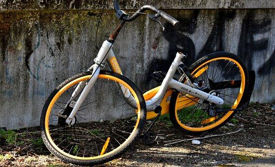 Up To Date, City Bike, Obike Munich, Vandalism