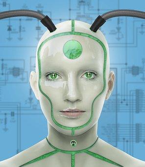 Cyborg, Woman, Futuristic, Cyber, Technology