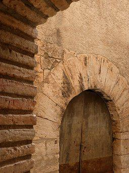 Door, Arc, Carved Stone, Medieval, Architecture, Old