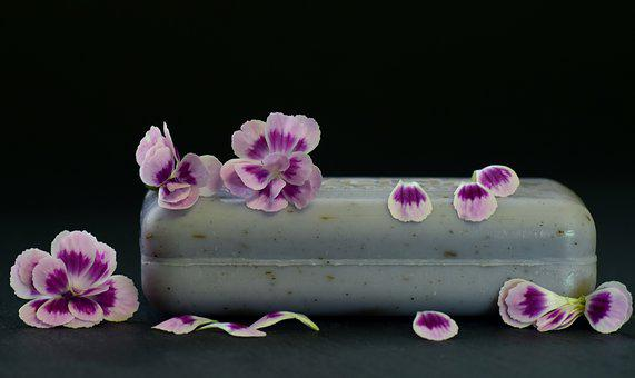 Soap, Fragrance, Flowers, Purple, Cleaning, Relaxation