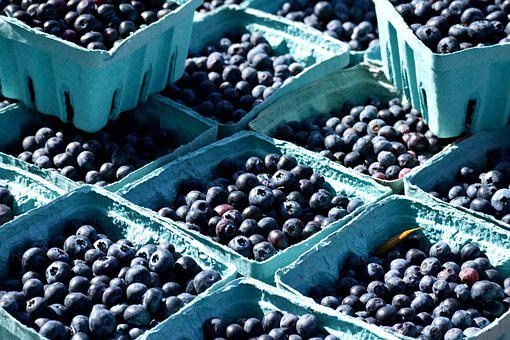 Fruit, Blueberry, Berry, Food, Bilberry, Market