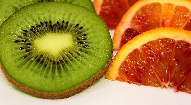 Blood Orange, Kiwi, Fruit, Citrus Fruits, Oranges
