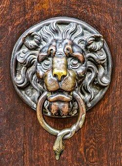 Architecture, Building, Door, Input, Door Knob, Brass