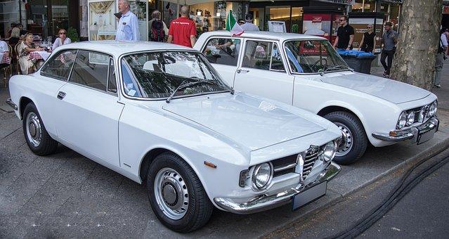 Auto, Alfa Romeo, Gt, Junior, Berlina, Coupe, Limousine
