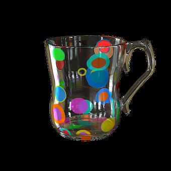 Empty Glass, Mug For Tea, Glass Glass