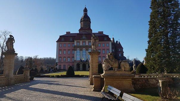 Ksaiz, Castle, Poland, Nazi, Gold, Train