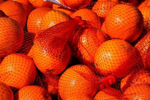 Oranges, Fruit, Citrus, For Sale, Market