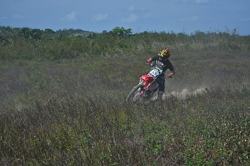 Outdoors, Recreation, Motocross, Sport, Drift, Dust