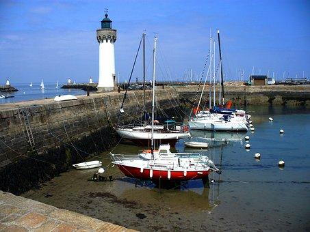 Body Of Water, Sea, Refuge, Travel, Side, Pier