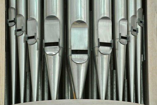 Organ, Organ Whistle, Steel, Series, Stainless Steel