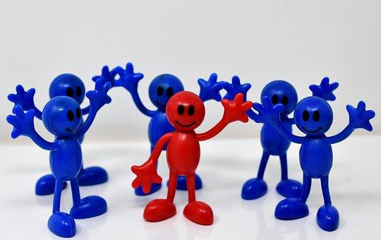 Smilies, Team, Together, Team Leader, Leader, Members