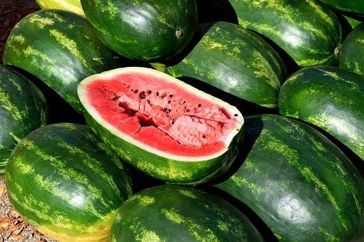 Healthy, Food, Vegetable, Fruit, Freshness, Watermelon