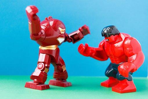 Battle, Blow, Warrior, Glove