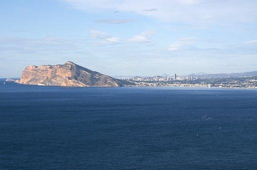 Benidorm, Holiday, Vacation, Water, Sea, Nature, Travel