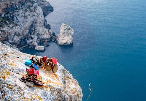 Mallorca, Mirador Es Colomer, Love Castle, Waters, Sea