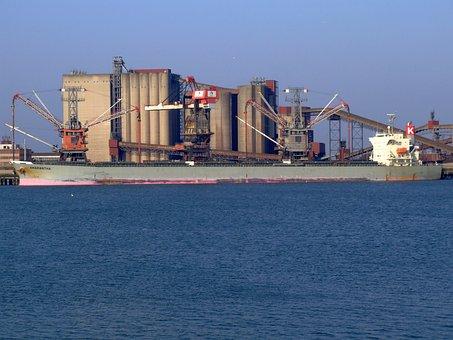 Amarantha, Ship, Port, Rotterdam, Holland, Europoort