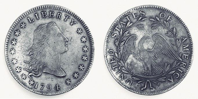 Dollar, American, America, The First, 1794