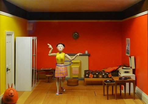Doll House, Children's Playhouse, Macro, Architecture