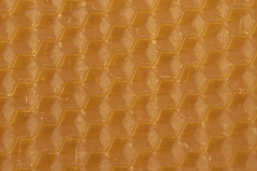 Beeswax, Combs, Honeycomb, Honeycomb Structure