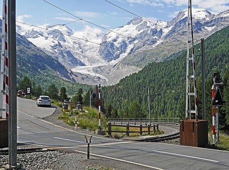 Bernina Massively, Bernina Pass, Bernina Railway