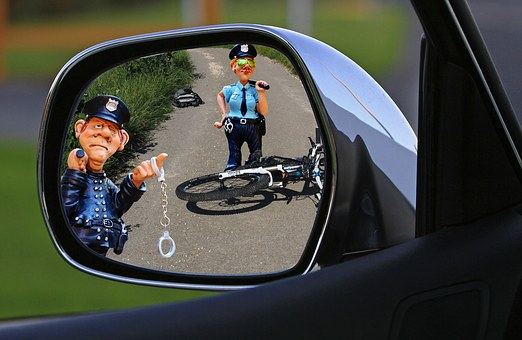 Accident, Hit And Run, Bike, Police, Crime, Traffic