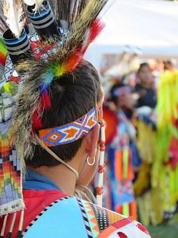 First Nation, Warrior, Headdress, Feather, Brave
