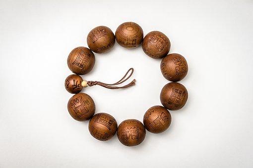 Buddhism, Wood, Craft, Religion, Beads, Prayer