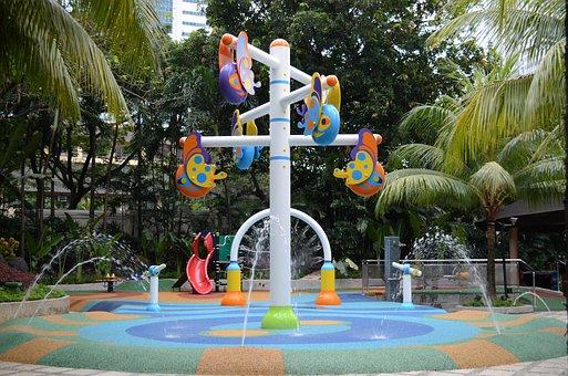 Playground, Children's Playground, Aquatic Playground
