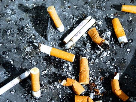 Cigarette End, Smoking, Ash, Cigarette, Stub