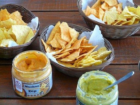 Tortilla Chip, Cornmeal Salzgebäck, Salty Snack