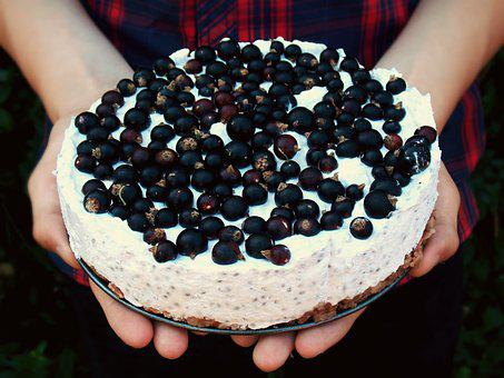A Cake, Currant, Fresh, Pie, Fruit, Summer, Meal