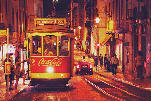 Portugal, Lisbon, Europe, City, Historic Center, Summer