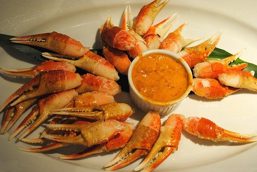 Food, Appetizer, Crab, Seafood, Meal, Fresh, Cuisine