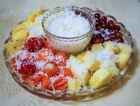 Fruit Platter, Fruit, Food, Snack, Fresh, Healthy