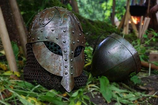 Middle Ages, Helm, Knight, Armor, Ritterruestung, Metal