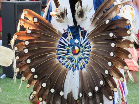 First Nation, Warrior, Feather, Ceremonial, Indian