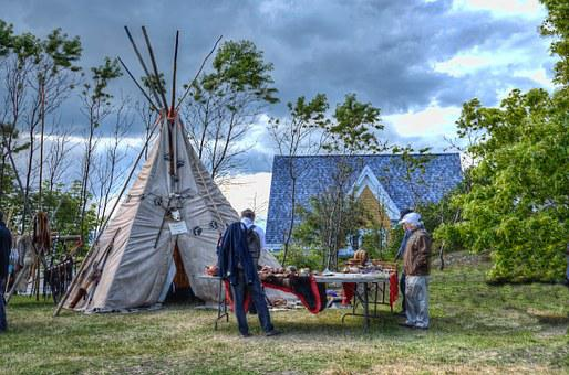 Indian, Seler, Summer, Tipi, Tepee, Tent, Pow Wow
