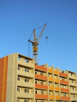 Construction, Crane Hoisting, Jib Crane