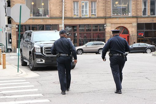Police, Police Officers, Detroit, Michigan, Officer