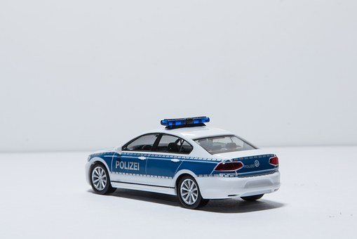 Miniature Photography, Police, Crime, Arrest, Did, Cop