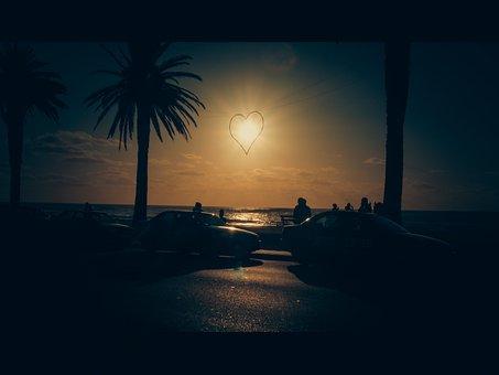Cape Town, Beach, Sea, Ocean, Sunset, Long Exposure