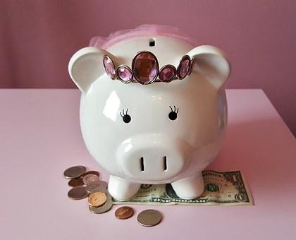 Piggy Bank, Pig, Piggy, Pink, Savings, Save, Money