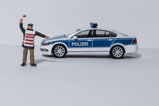 Miniature Photography, Police, Crime, Arrest, Did, Cop