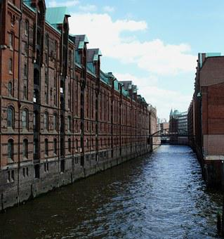 Hamburg, Port, Alster, Depot, Elbe