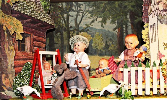 Puppet Show, Toys, Dolls Houses, Doll's House