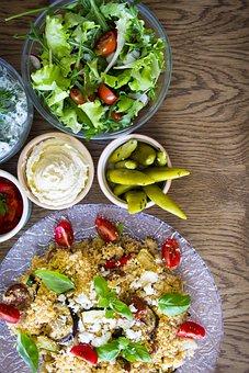 Couscous, Salad, Food, Lunch, Cuisine, Meal, Vegetarian