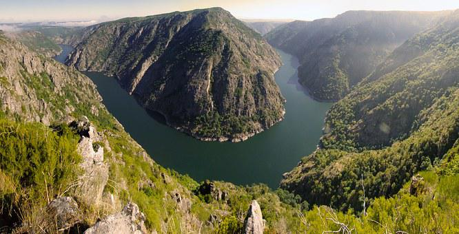 Ribeira Sacra, Sil Canyons, Ourense, Galicia, Spain