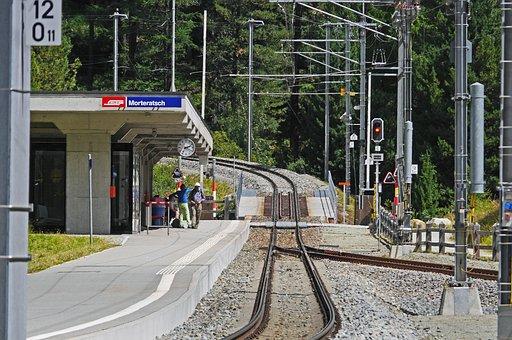 Steep Track, Rhaetian Railways, Bernina Railway
